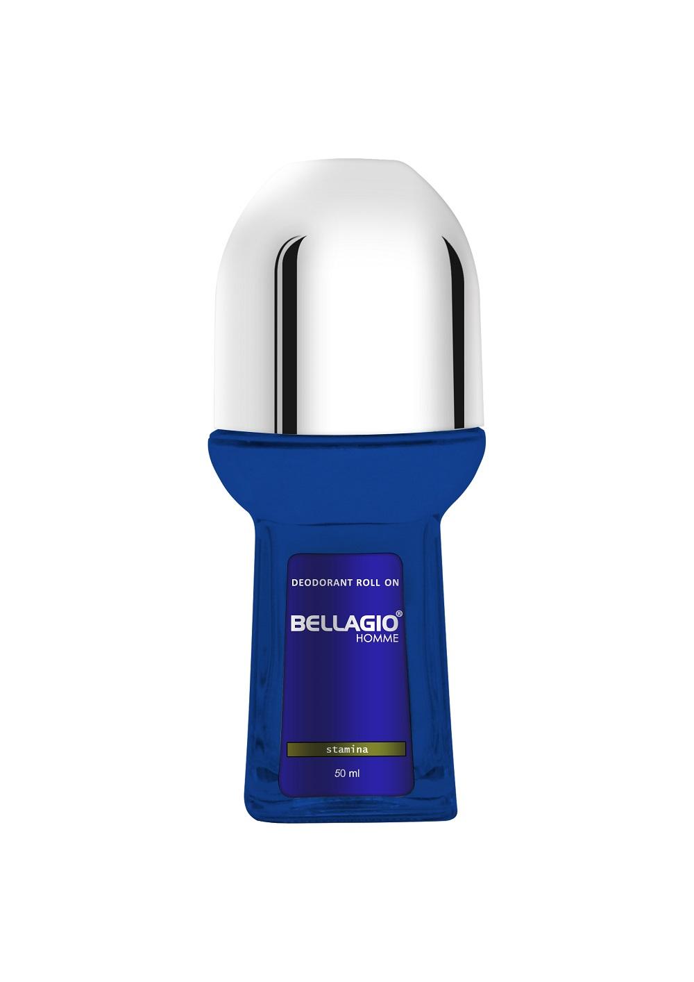 Bellagio Roll On Blue Glass 50ml – Stamina